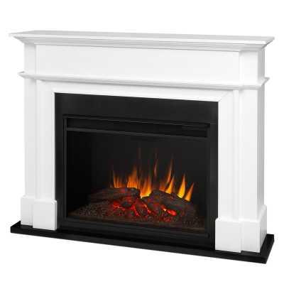 Harlan Grand Electric Fireplace - Wayfair