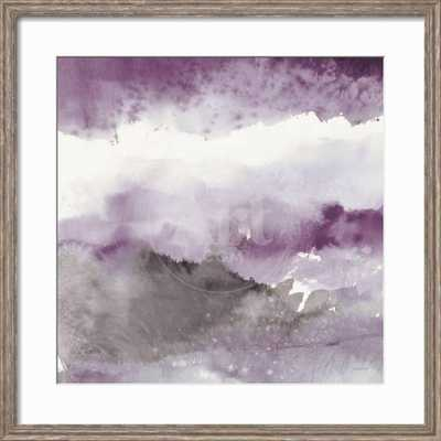Midnight at the Lake III Amethyst and Grey By Mike Schick - art.com