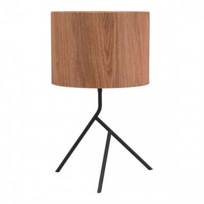 Sutton Table Lamp Brown - Zuri Studios