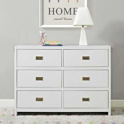 Benbrook 6 Drawer Double Dresser - Wayfair