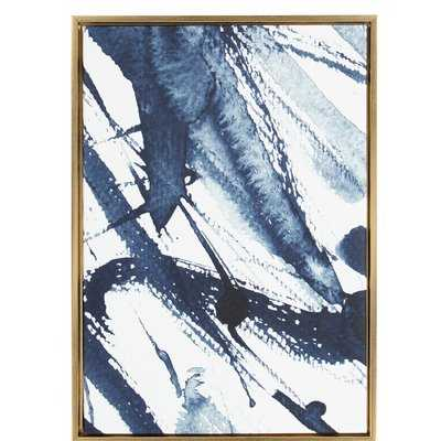 Framed Graphic Art Print on Wrapped Canvas - Wayfair