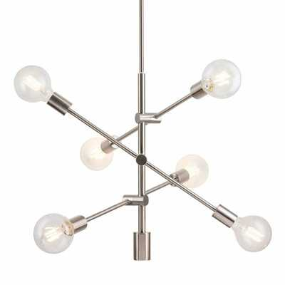 Eladia 6-Light Sputnik Modern Linear Chandelier - AllModern