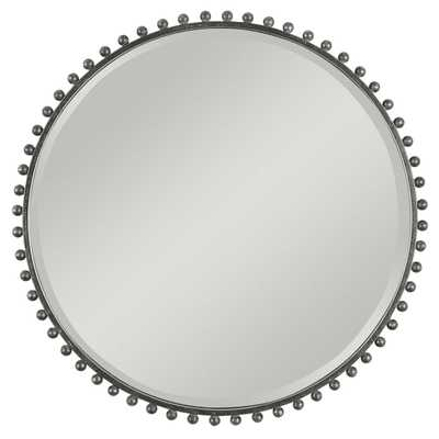 Taza Round Mirror - Hudsonhill Foundry