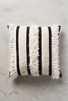 Textured Indira Pillow - Anthropologie