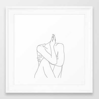 Nude Life Drawing Figure - Society6