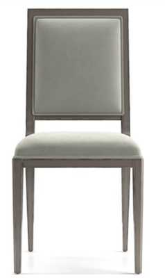 Sonata Velvet Handpainted Dining Chair - Crate and Barrel