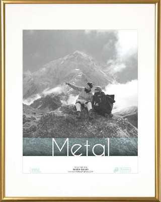 Hollman Metal Picture Frame Gold 16x20 - AllModern