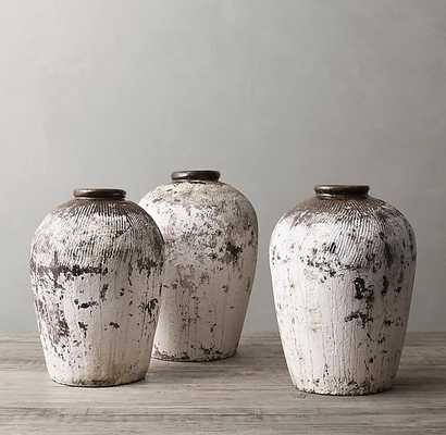 RICE WINE VESSEL - WHITE - RH