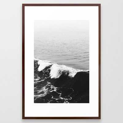 OCEAN WAVES Framed Art Print - Society6