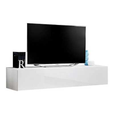 Kaira Wall Mounted Floating 63 TV Stand White for tv's up to 70 - Wayfair