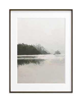 LakeView II - 18x24 - Matte Black Frame - Minted