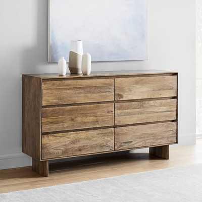 Anton Solid Wood 6-Drawer Dresser - West Elm