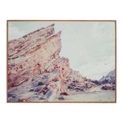 Vasquez Rocks Framed Canvas Wall Art - World Market/Cost Plus