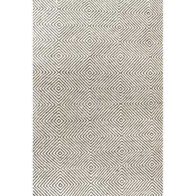 Marcelo Hand-Tufted Wool/Cotton Ivory Area Rug - Wayfair
