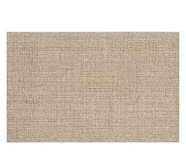 Chunky Wool Jute Rug, 10 x 14', Natural - Pottery Barn