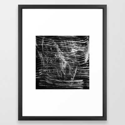 Shimmer Framed Art Print - Society6