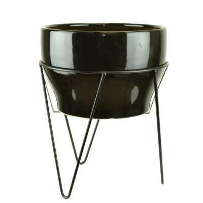 Crim Premium Glazes Ceramic Pot Planter - AllModern