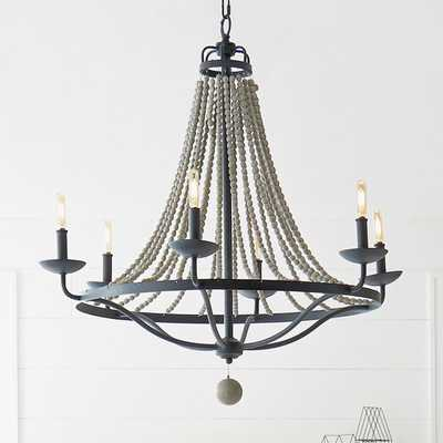 FRENCH COUNTRY DRIFTWOOD CHANDELIER - 6 LIGHT - Shades of Light