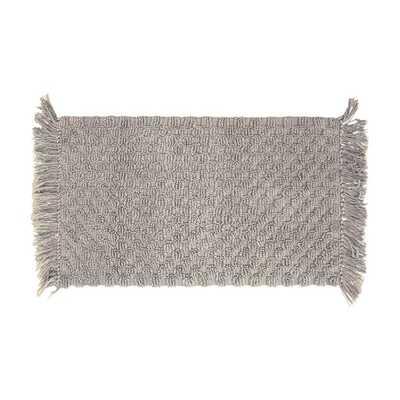 French Connection Rectangular 100% Cotton Solid Bath Rug - Wayfair