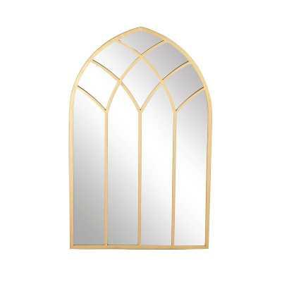 Modern & Contemporary Framed Arched Window Accent Mirror - Birch Lane