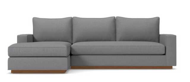 Harper 2pc Sleeper Sectional - Mountain Grey / LAF- Chaise on the Left - Apt2B