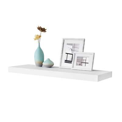 "Tiverton Floating Shelf, White 36"" - AllModern"