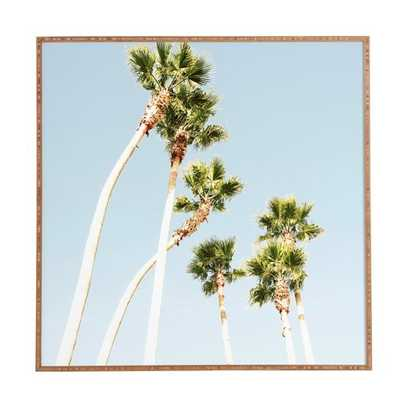 Beach Palms - Picture Frame Photograph Print on Paper - AllModern