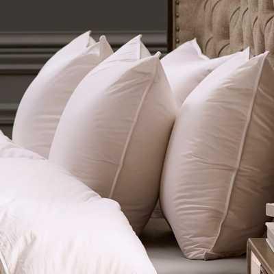 Percale Down Alt. Pillow - KG Medium - Noble Feather Co.