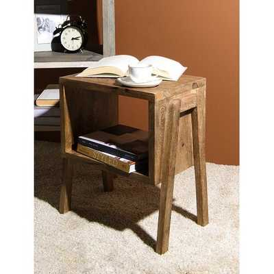 Oakhaven End Table with Storage - Wayfair