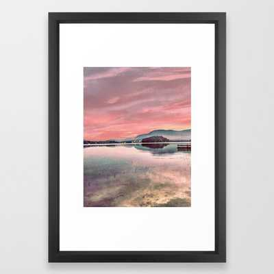 Water Color Framed Art Print by Panache Co - Society6