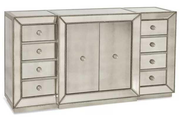 Rogerson Mirrored Sideboard - Wayfair