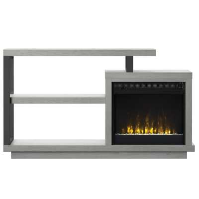 "Garrow TV Stand for TVs up to 50"" with Electric Fireplace - Wayfair"