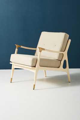 Linen Haverhill Chair - Anthropologie