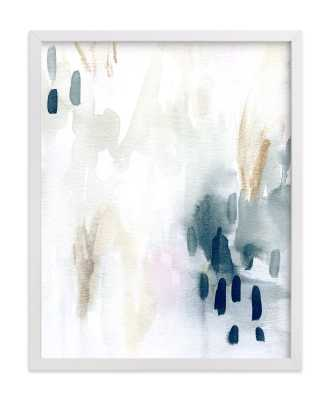 ever softly - 11x14 - white wood frame - Minted