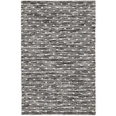 HOBNAIL BLACK INDOOR/OUTDOOR RUG, 5x8 - Dash and Albert