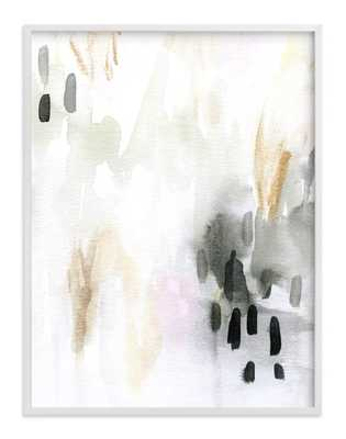 """Ever Softly - 30"""" X 40""""- White Wood Frame- Standard Plexi & Materials- Standard Full Bleed - Minted"""