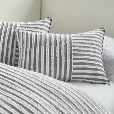 Clipped Squared Comforter Set- QUEEN COMFORTER+2 SHAMS - Wayfair