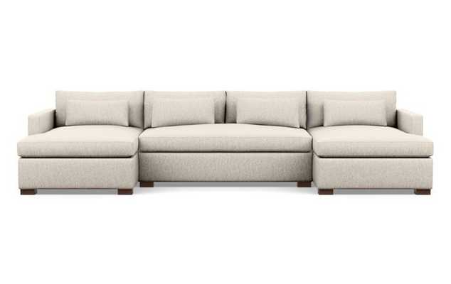 CHARLY U-Sectional Sofa (wheat) - Interior Define