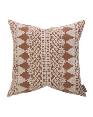 """LISBETH PILLOW WITHOUT INSERT, 22"""" x 22"""" - McGee & Co."""