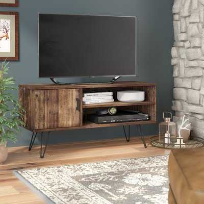 """Barclee Solid Wood TV Stand for TVs up to 55"""" - Wayfair"""