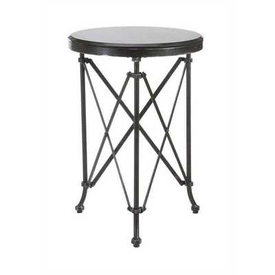 INDUSTRIAL ACCORDION LEG SIDE TABLE - Shades of Light