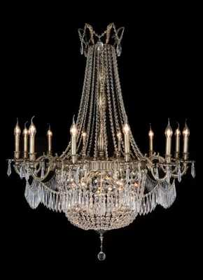 SUMMER PALACE 24-LIGHT CANDLE STYLE EMPIRE CHANDELIER - Perigold