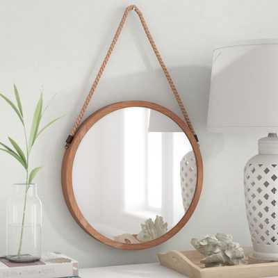 """Bonnie Lock-Woodsetter North Wood Wall Mirror"" - Wayfair"