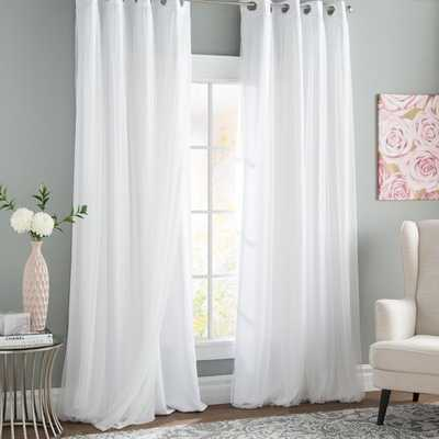 Brockham Thermal Curtain Panels- Set of 2 - Wayfair