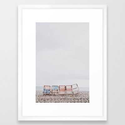 summer beach iii Framed Art Print - Society6
