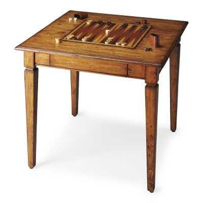 "30"" Merriman Chess & Backgammon Table - Wayfair"