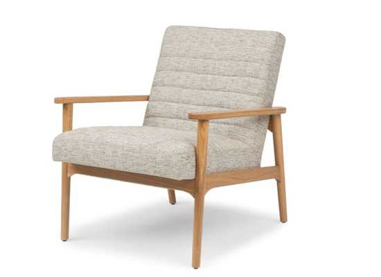 Thetis Fog Tweed Chair - Article