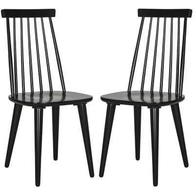 Britt Solid Wood Dining Chair,(Set of 2) - Wayfair