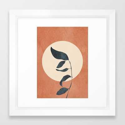 Summer Leaves Framed Art Print - Society6