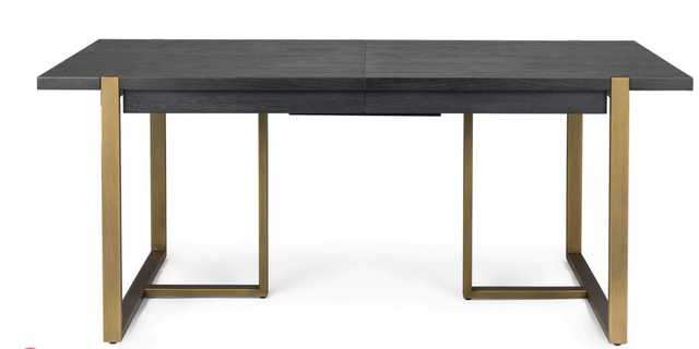 Oscuro Black Extendable Dining Table - Article